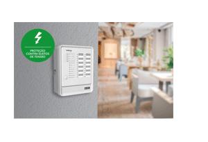 Proteção contra surtos com a Central de Alarme de Incêndio Intelbras Convencional CIC 12L