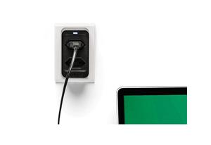 Proteção total contra surtos nos 3 pinos com o Dispositivo de Proteção Elétrica Intelbras EPS 302