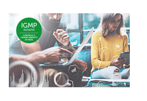 Protocolo de otimização para tráfego Multicast (IGMP) Switch Gerenciável Intelbras SG 1002 MR L2+ 8 Portas Giga + 2 Portas Mini-Gbic