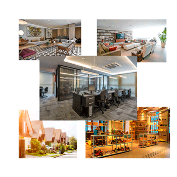 Residencial /  Empresarial / Comercial