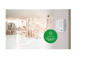 Resistência UV com a Central de Alarme de Incêndio Intelbras Convencional CIC 12L