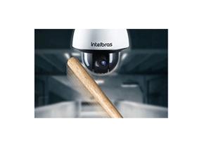 Resistência a toda prova com IK10 e IP67 com a  Câmera Intelbras IP Speed Dome Starlight Full HD VIP 7245 SD Zoom 45x 1080p
