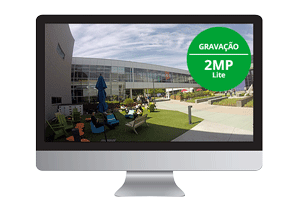 Resoluçao 2mp do DVR Intelbras HD 4 Canais MHDX 1104 Multi HD 1080p Lite