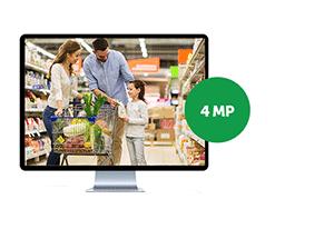 Muito mais resolução na gravação com o DVR Intelbras Full HD 4 canais MHDX 3104 Multi HD 4MP