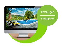 Imagens em Ultra HD (5 Megapixels) com a Câmera Giga Security Orion Ultra HD GS0046 Multi HD IR 30m 5 Megapixels