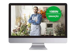 Resolução HD em todos os canais com o DVR 8 Canais MHDX 1008 Intelbras