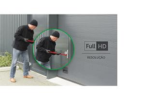 Imagem perfeita em resolução Full HD com a Câmera Intelbras IP Full HD VIP 3250 MIC com Microfone PoE+ 1080p