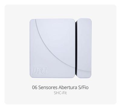 Sensor de Abertura S/ Fio SHC-Fit JFL