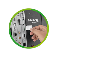 Segurança e qualidade no atendimento do Central PABX (Telefonica Híbrida) Impacta 300 Intelbras