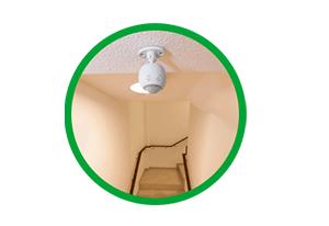 Intelbras Acende e apaga a luz automaticamente Sensor de presença para iluminação ESP 360 A