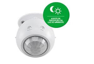 Função Fotocélula Sensor de presença para iluminação ESP 360 A