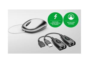 Seu equipamento mais durável com o Extensor USB Alcance até 50m Intelbras VEX 1050 USB