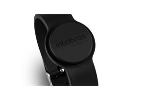 Tag feita em silicone com o Pulseira Acionada por Aproximação RFID 13,56MHz - Intelbras TH 4000 MF
