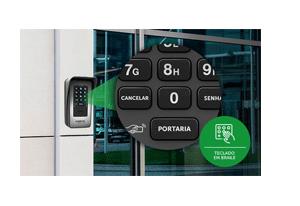 Teclado braile (XPE 1013 PLUS ID) com o Terminal Dedicado Porteiro Intelbras XPE 1013 Plus ID