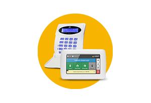 Teclados opcionais com a Central de Alarme JFL Monitorável Active 20 GPRS Modular 20 Zonas)