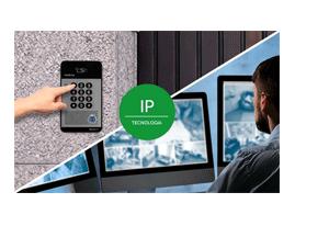 Tecnologia IP com o Porteiro Eletrônico Intelbras IP XPE 1001 IP Tecla Única