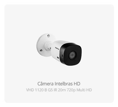 Câmera Intelbras HD VHD 1120 B G5 Multi HD 720p
