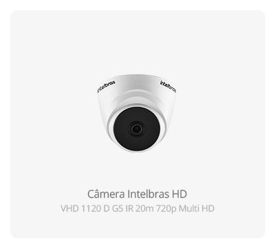 Câmera Intelbras HD VHD 1120 D G5 Multi HD 720p
