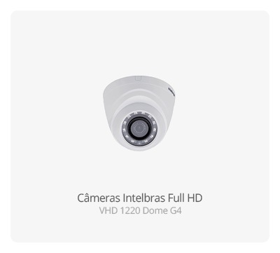 Câmeras Full HD Intelbras VHD 1220 Dome