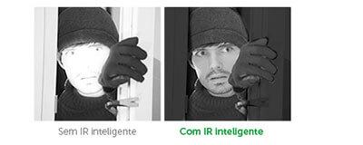 IR Inteligente da Câmera IP Intelbras HD VIP S3020 G2 720p IR 20m