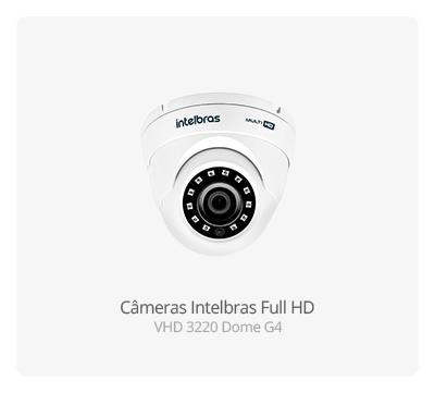 Câmeras Full HD Intelbras VHD 3220 Dome