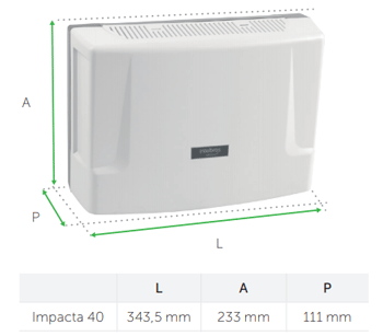 Compatibilidade total do Central PABX Híbrida Impacta 40 Intelbras