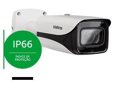 Câmera Intelbras 4K  com proteção IP66 para ambientes externos
