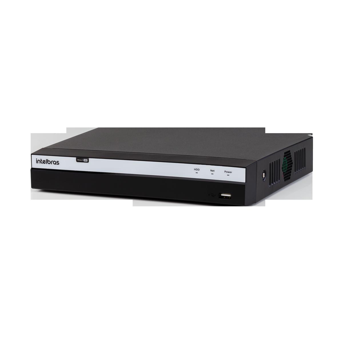 DVR MDHX 5108 08 canais Multi HD Intelbras
