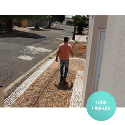 Imagem resolução câmera 1200 Linhas