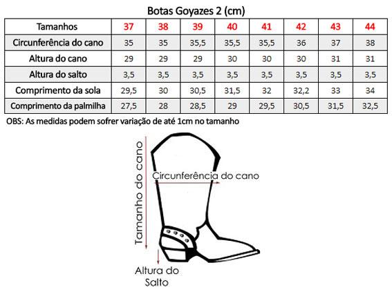 410c2579b6908 Bota Country Masculina Goyazes Bico Quadrado Dalas Camuflado - Show ...