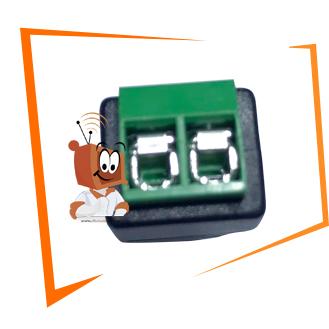 Conector P4 Macho conecção