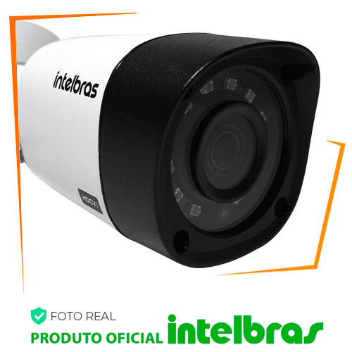Câmera Intelbras 1010b G4 1.0 megapixel Bullet 720p - tamanho da imagem 500x500