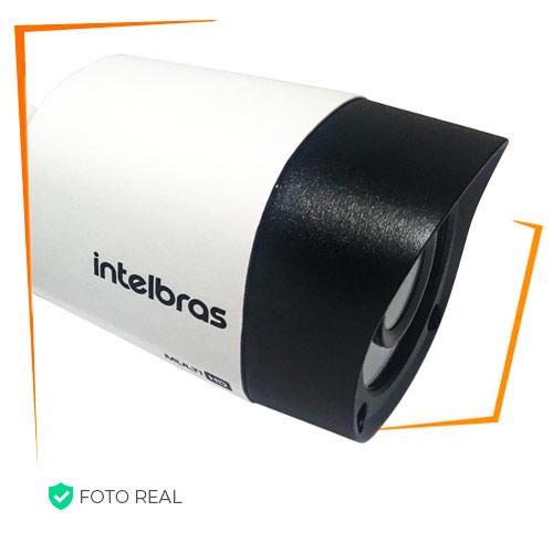 Foto real da câmera intelbras 3130B Bullet HD G4 Alta definição flex