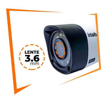 Lente 3.6mm câmera intelbras 1010B Bullet - tamanho da imagem 329x329