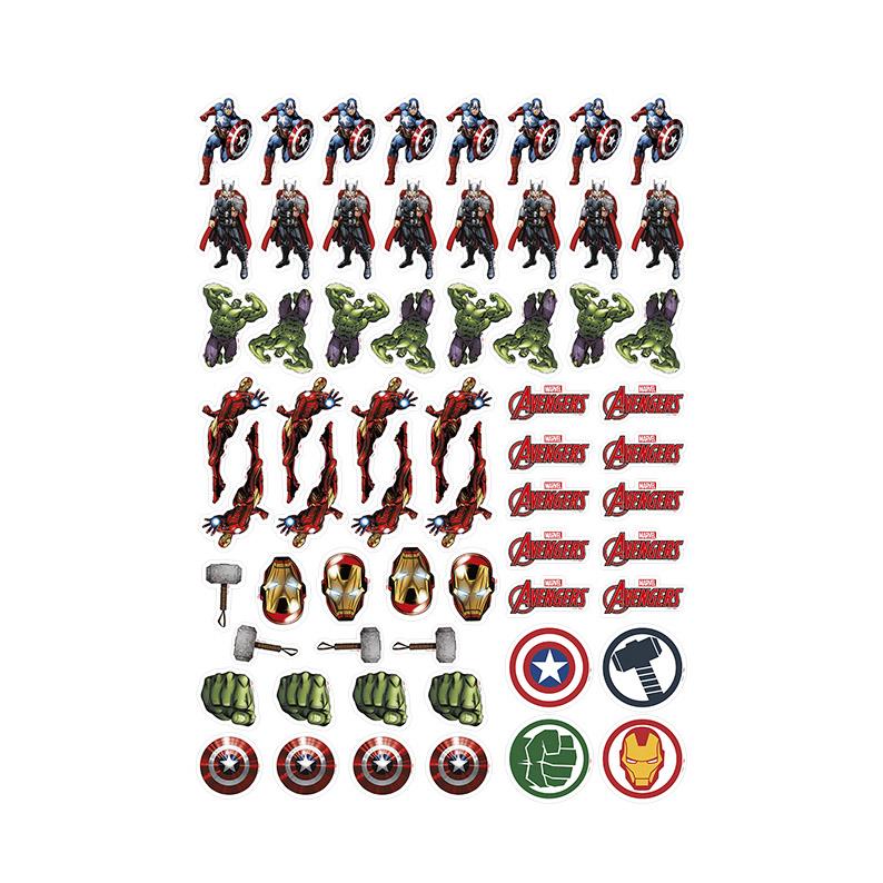 Aplique para Tubetes e Lembrancinhas dos Avengers