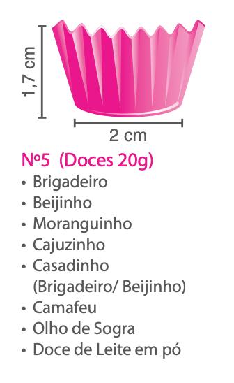Forminhas para Doces de Papel N5
