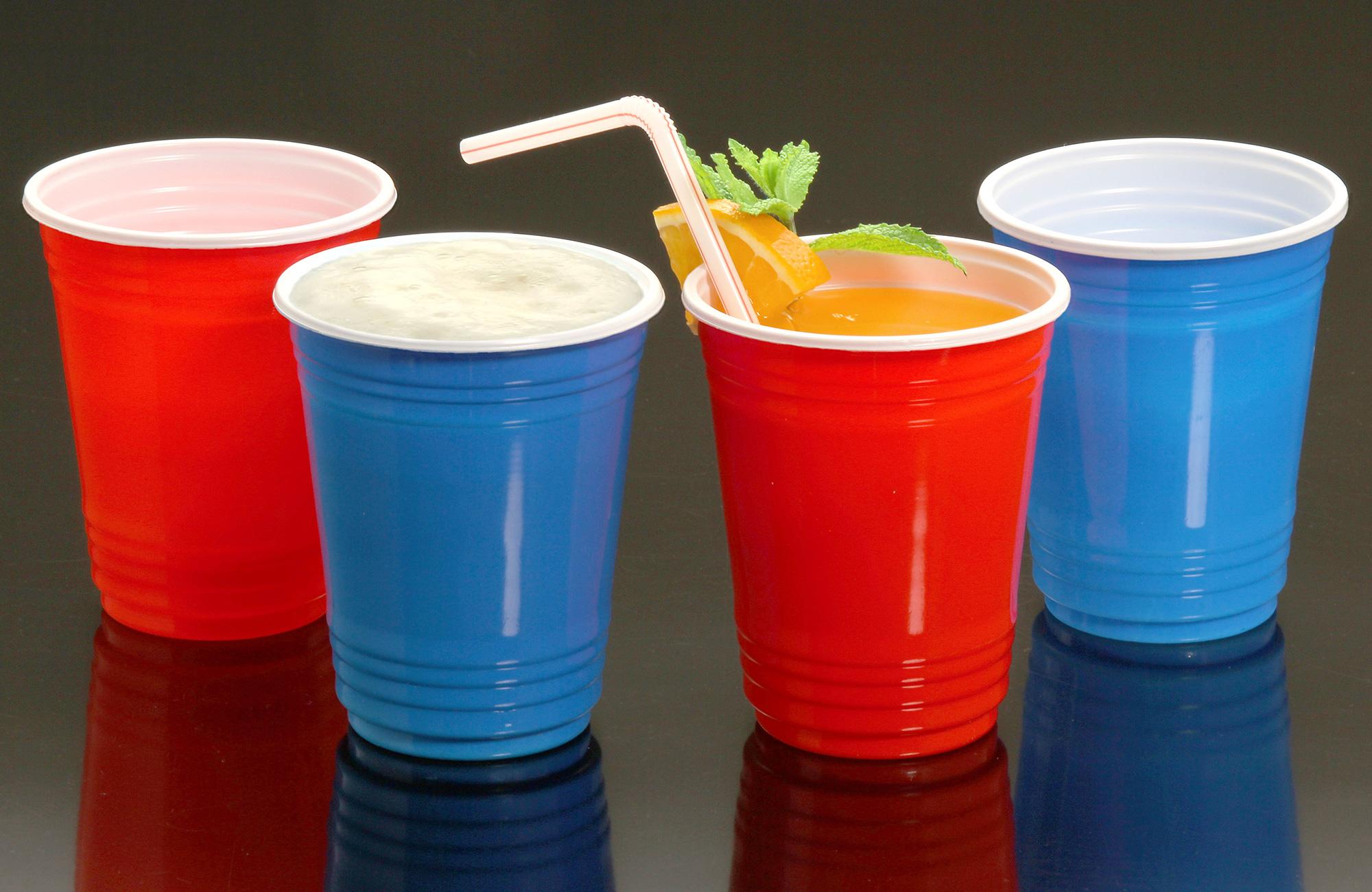 Copo Descartável de plástico Estilo Festa Americana