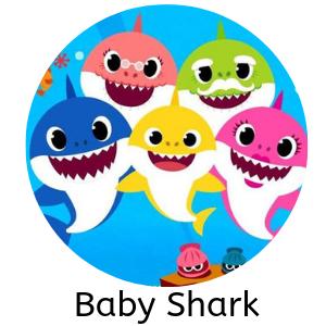 Tema de festa do baby shark
