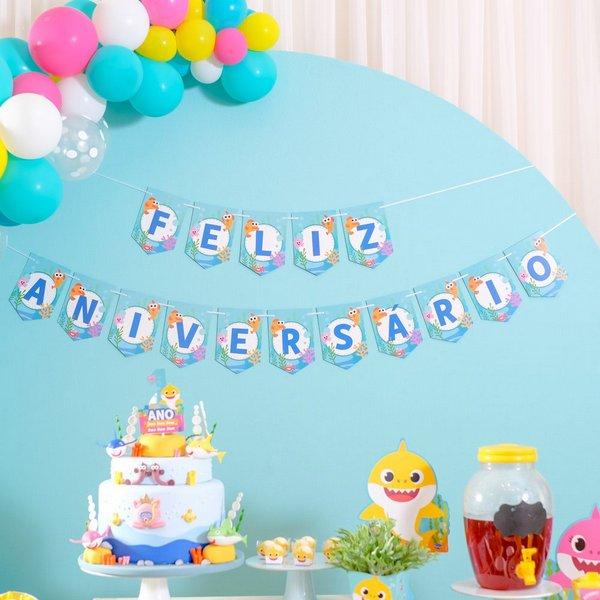 faixa de feliz aniversário