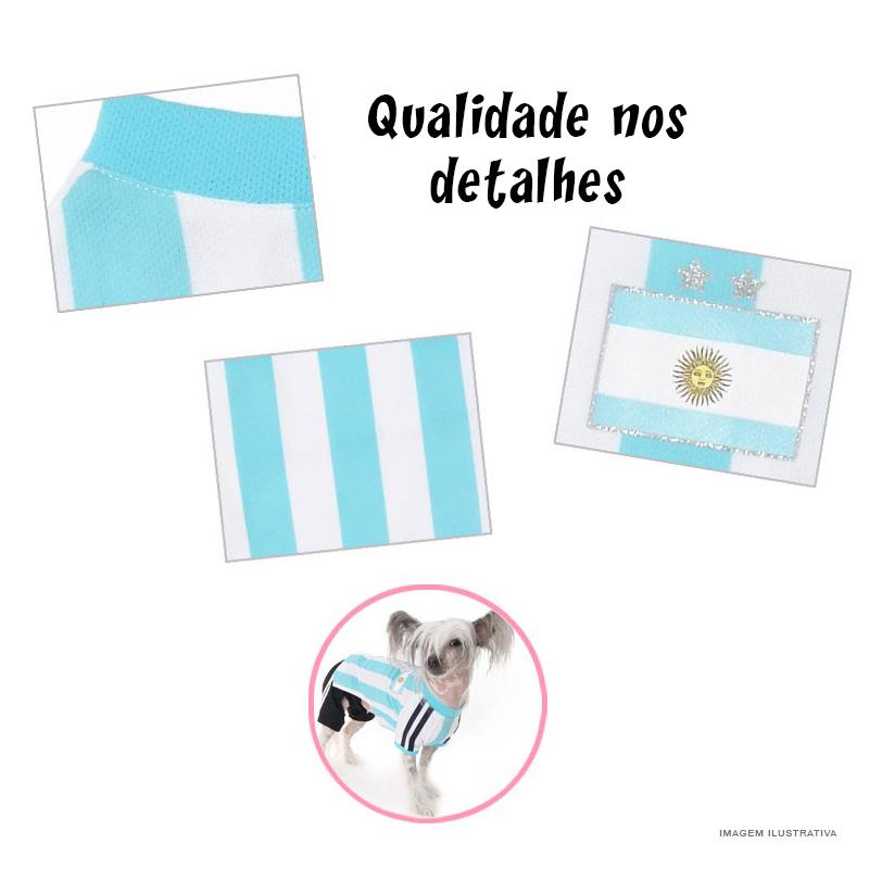 Camisa Oficial Seleção Argentina Puppy Angel ~ Petite Sofie