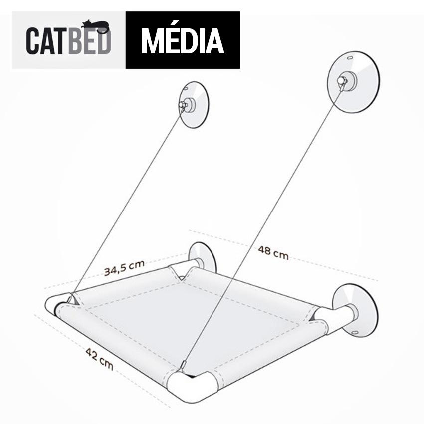 Medidas Catbed Gatton ~ Petite Sofie