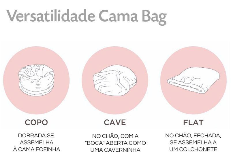 Caminha Bag Woof Classic ~ Petite Sofie