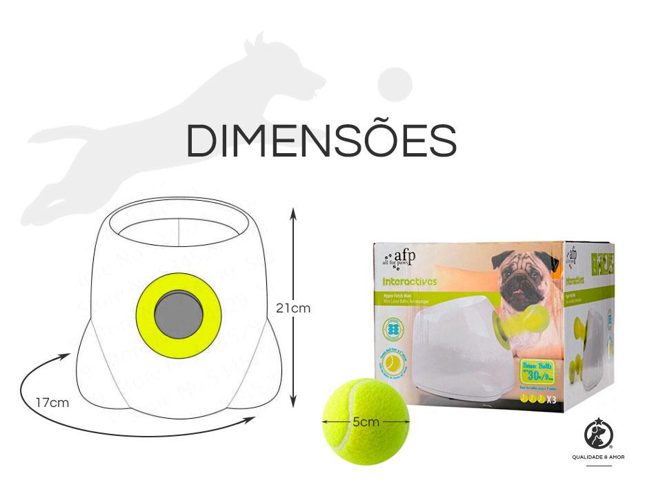 Lançador de Bolinhas para cães Hyper Fetch AFP - Petite Sofie