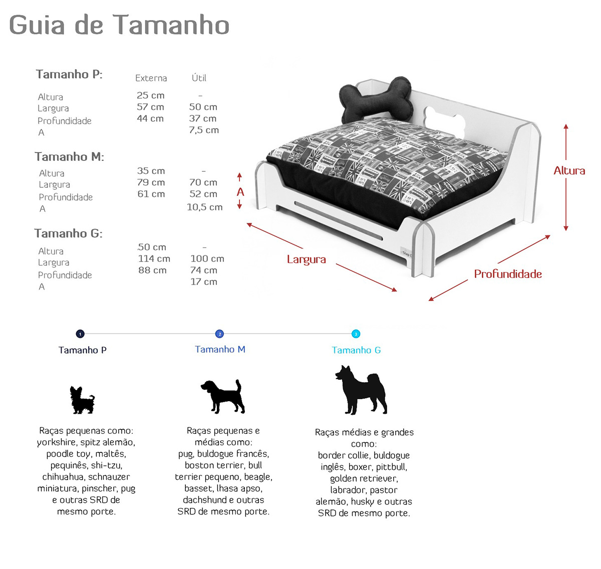 Medidas Cama Citadino Step Dog ~ Petite Sofie
