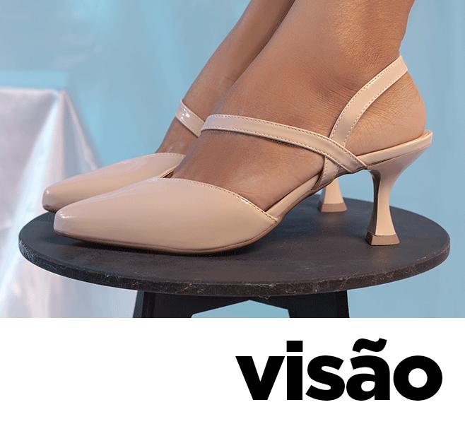 Modelo calçado scarpin feminino