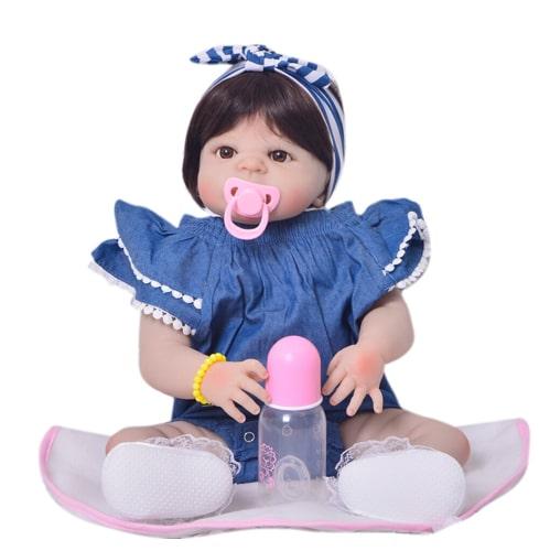 Boneca Bebê Reborn Siliconada Silicone Realista Pronta Entrega