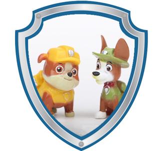 Bonecos Tracker e Rubble Patrulha Canina
