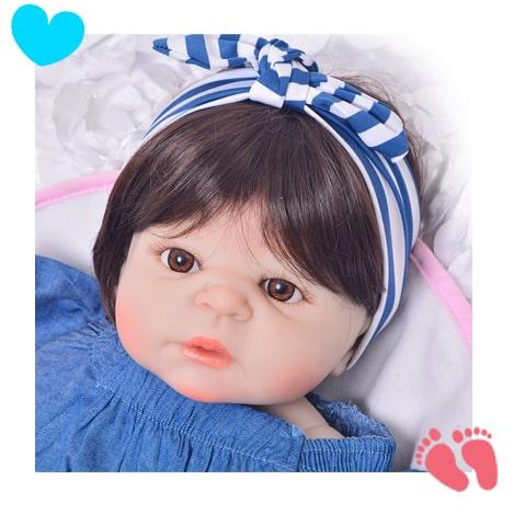 Boneca Reborn Isabella Siliconada