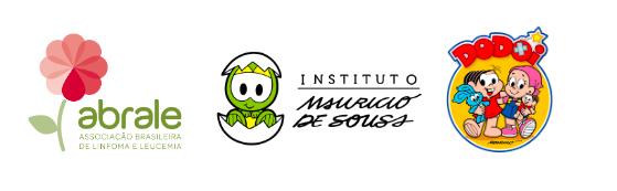 Logo Abrale Instituto Mauricio de Souza Projeto Dodoi