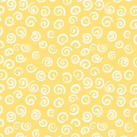 Fabricart - Caracol Amarelo - 50cm x 150cm